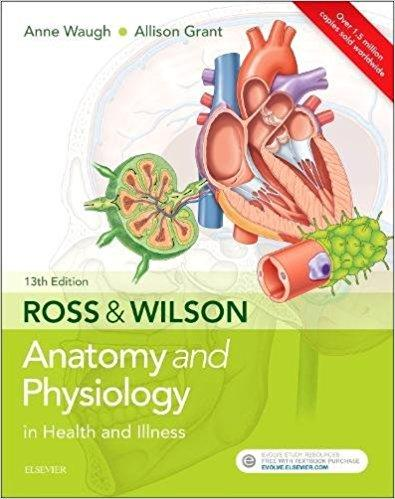 Ross & Wilson Anatomy and Physiology in Health and Illness 13th Edition 2018 - آناتومی